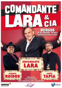 Comandante Lara & Cia @ Cultural Caja de Burgos (Burgos)