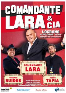 Comandante Lara & Cia @ Auditorio Municipal de Logroño