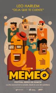 """Memeo: Leo Harlem """"Deja que te cuente"""" @ Riojaforum"""