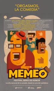 """Memeo: """"Orgasmos, la comedia"""" @ Auditorio de Logroño"""